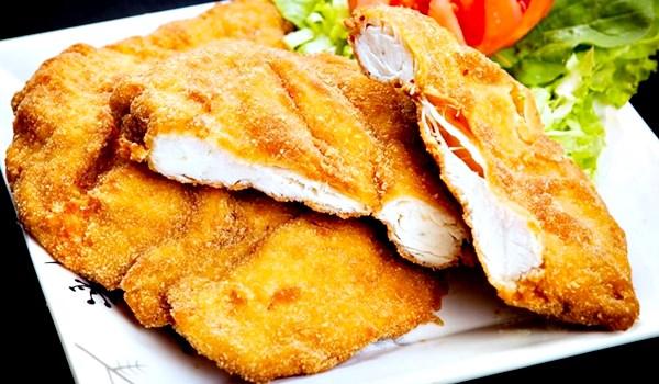 Receita de frango a milanesa
